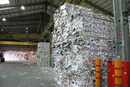 古紙リサイクル画像1